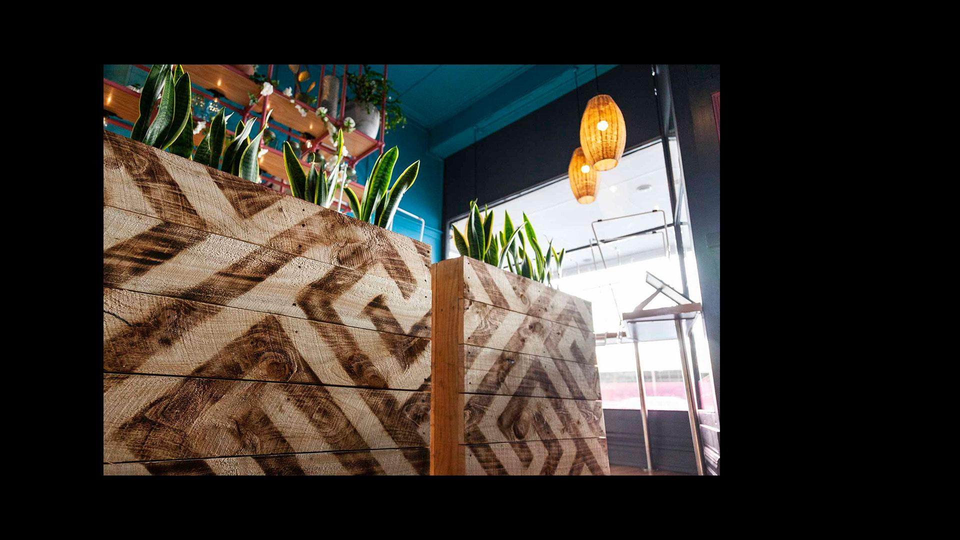 Mamacita Taqueria Interior Design