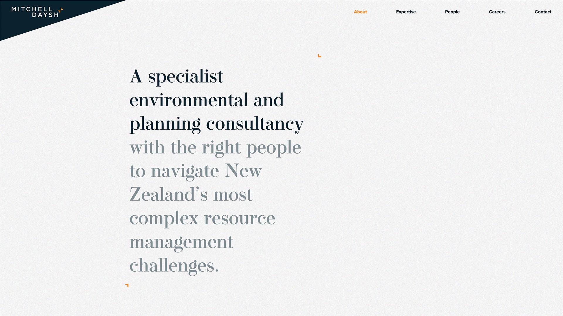 Mitchell Daysh Website About