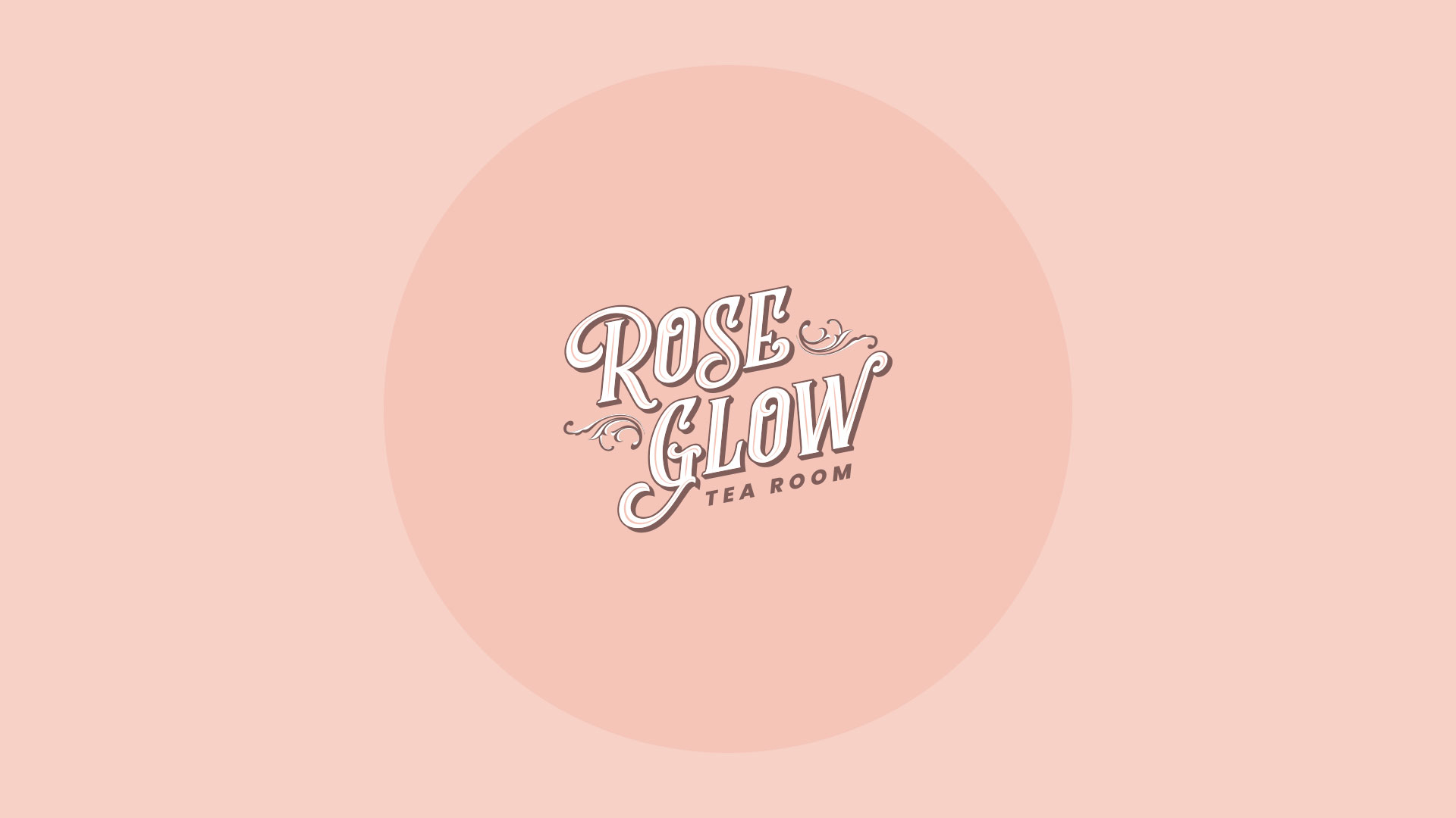 Rose Glow Tea Room Logo
