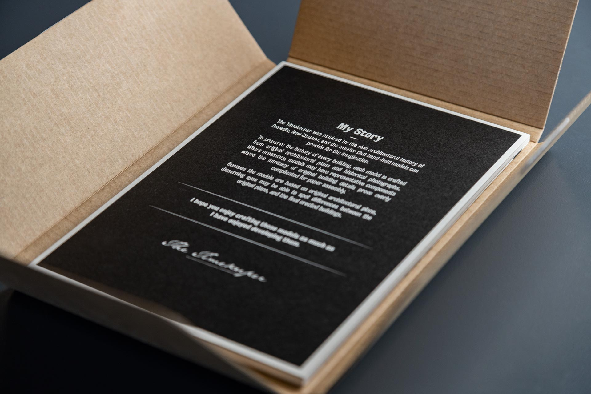 The Timekeeper Packaging Design